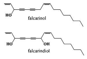 falcarino; falcarindiol