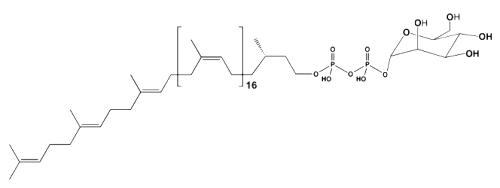 glycosylated diphosphoprenol