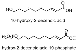 hydroxy decenoic acid - royal jelly
