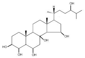 cholestane hexaol