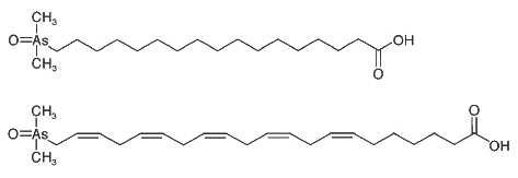 arsenic fatty acids